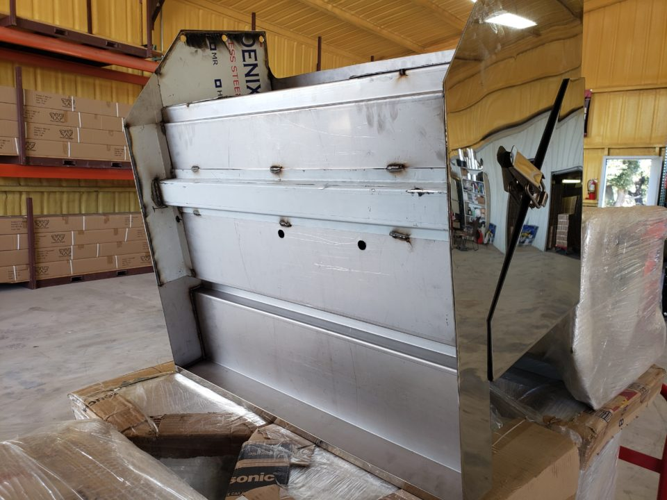 American Eagle Exhaust Stephenville Texas - Truck Stainless Steel Step Boxes & Battery Boxes 1