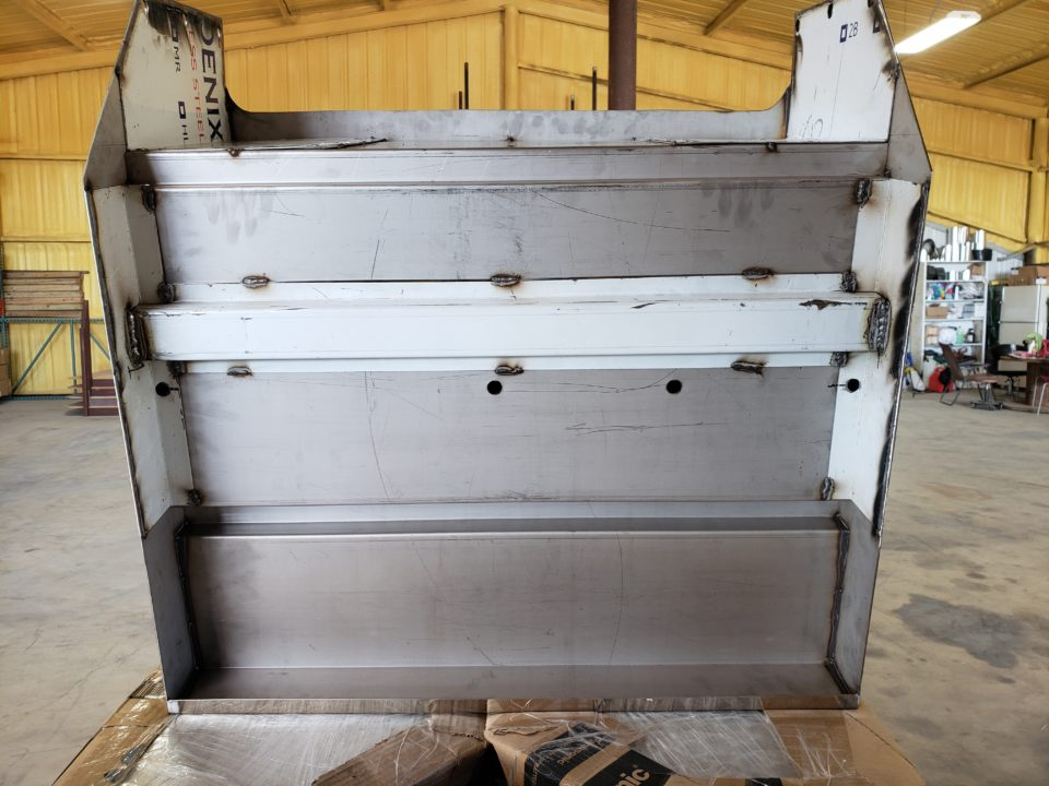 American Eagle Exhaust Stephenville Texas - Stainless Steel Truck Step Box & Batter Boxes 3