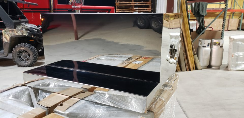 American Eagle Exhaust Stephenville Texas - Stainless Steel Truck Step Box & Batter Boxes 2