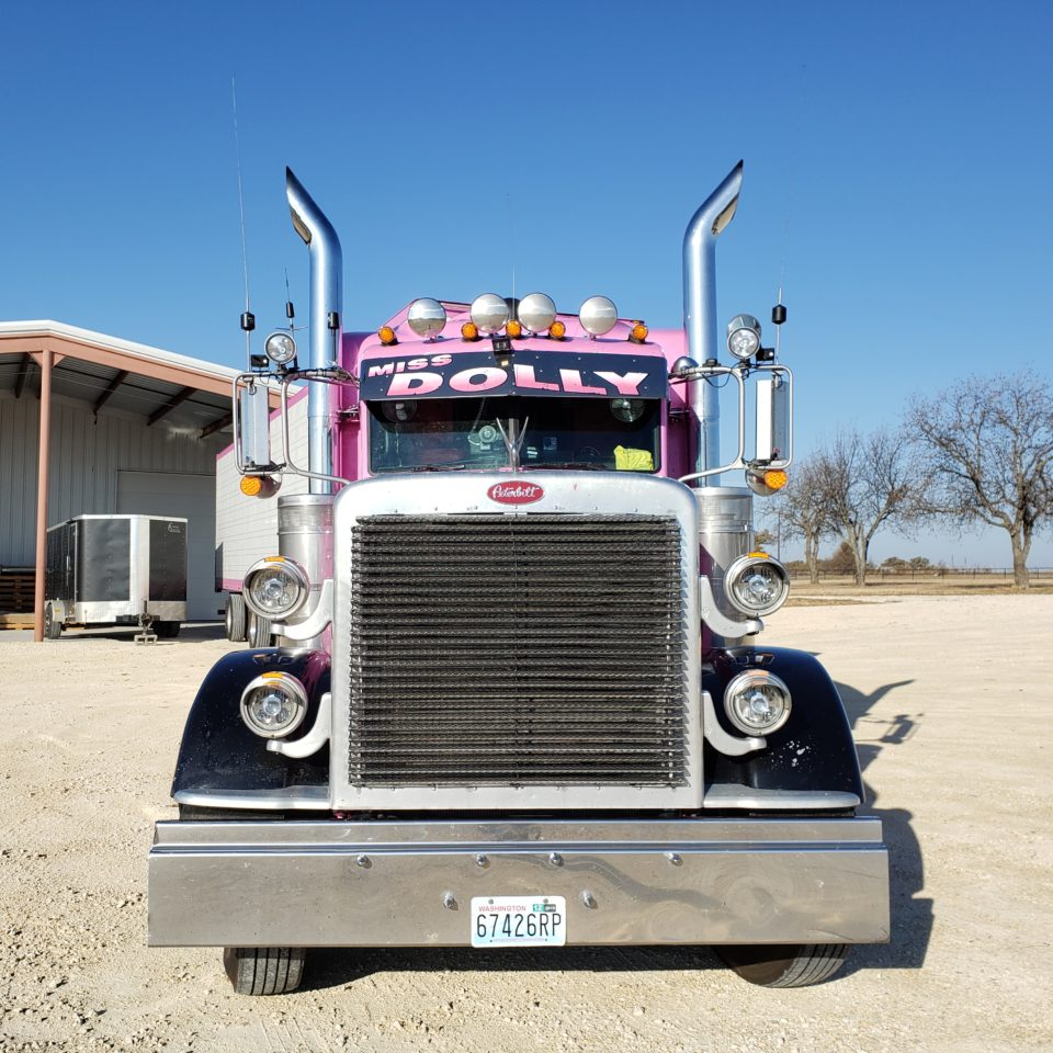 American Eagle Exhaust Stephenville Texas - Stainless Steel Truck Exhaust Tall Wide Aussie Miss Dolly Truck 4