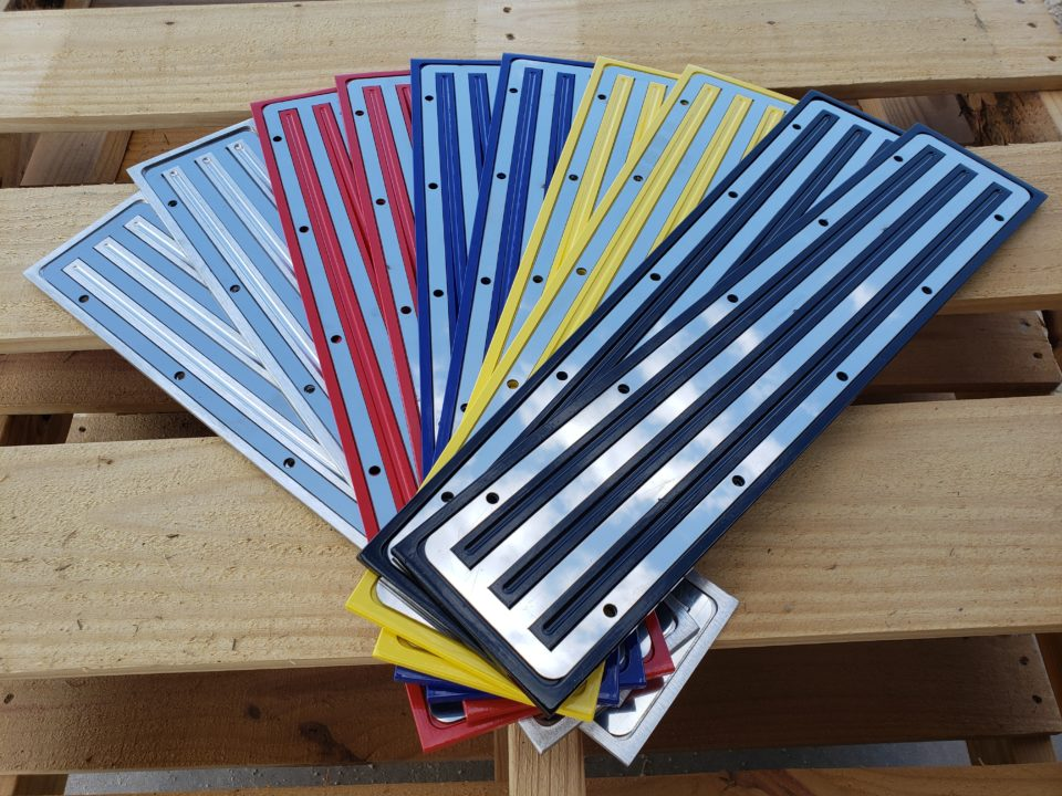 American Eagle Exhaust Stainless Steel Truck Step Plate Colors