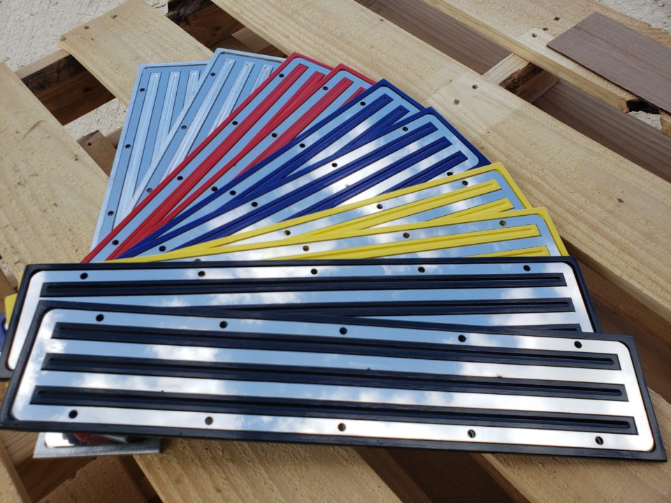 American Eagel Exhaust - Truck Stainless Steel Step Plate Colors
