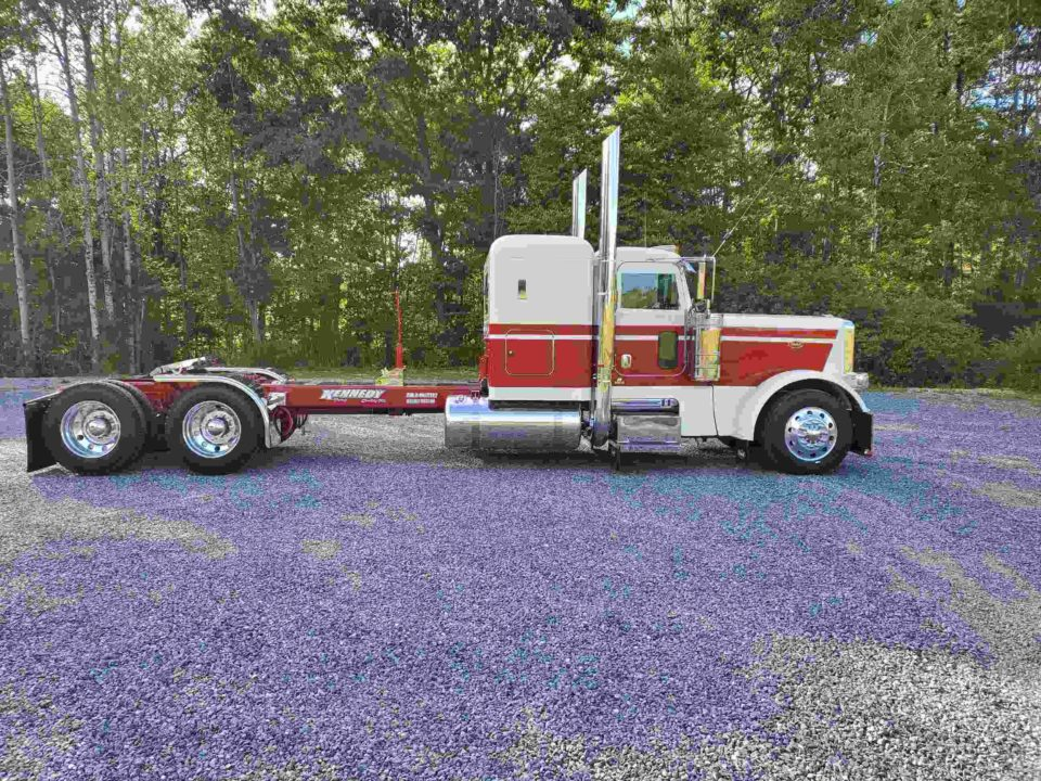 American Eagel Exhaust - Miter Stainless Steel Truck Exhaust Kit